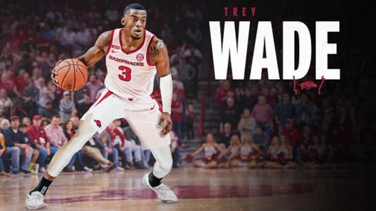 Arkansas adds graduate transfer forward Trey Wade