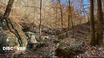 Lost Valley Trail has been highlighted as one of the best trails in Arkansas