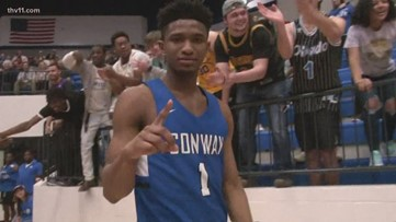 Conway upsets NLR to advance to 6A semis