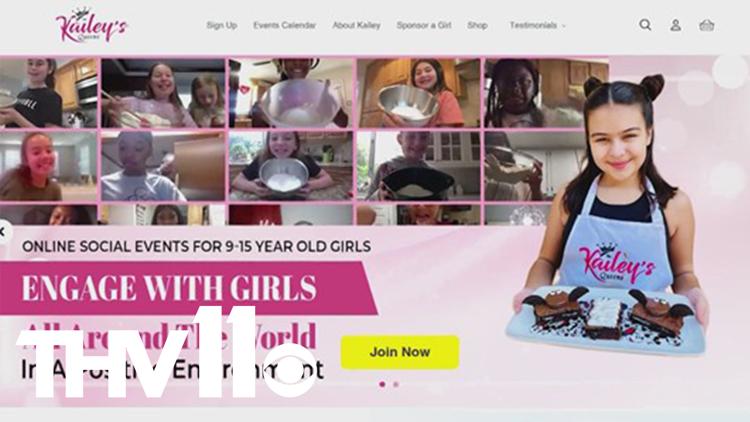 Empowering girls through online community