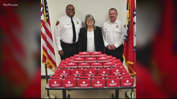 Pine Bluff Fire Department, EMS receive Narcan kits