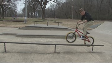 Bikes barred from North Little Rock skate park, cyclists aim for rule change