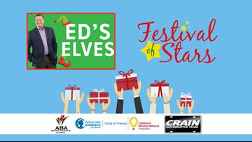 Be one of Ed's Elves providing toys for AR Children's
