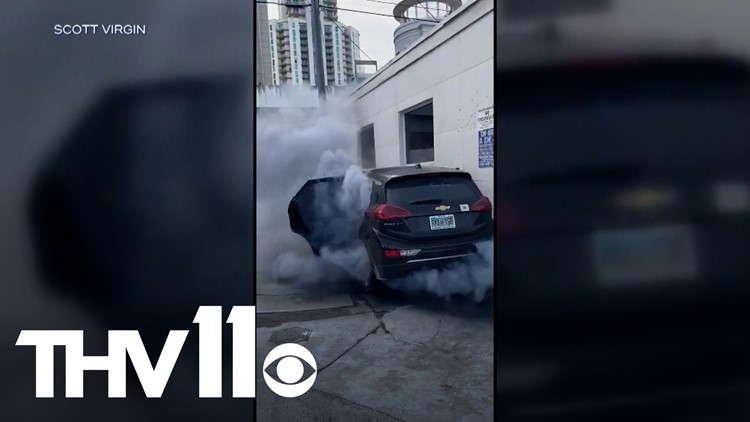 General Motors recalling cars following battery malfunctions