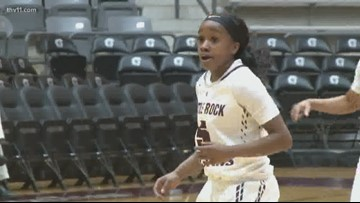 Little Rock rolls past Texas State 62-47