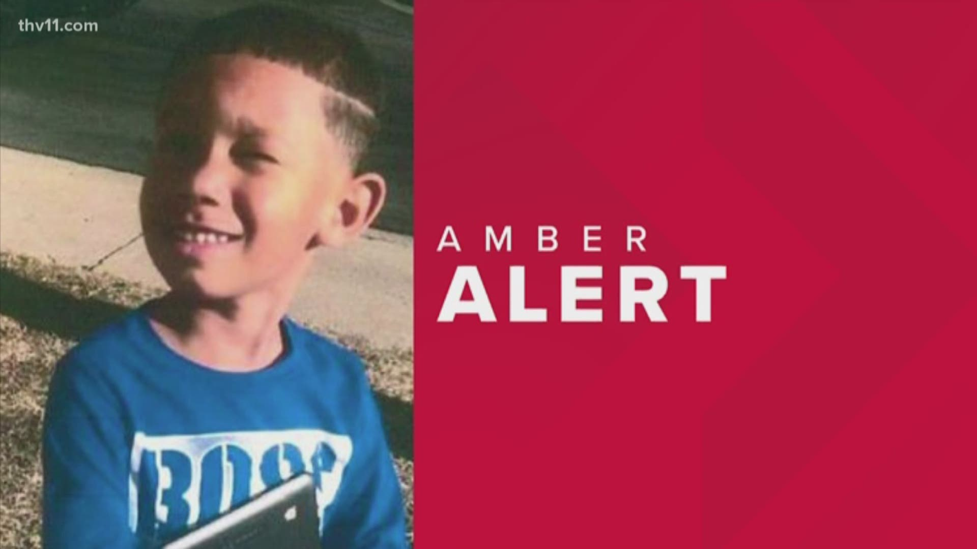 Amber Alert Arkansas Police Looking For Missing 6 Year Old Boy Thv11 Com