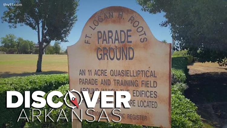 Discover Arkansas   Fort Logan H. Roots