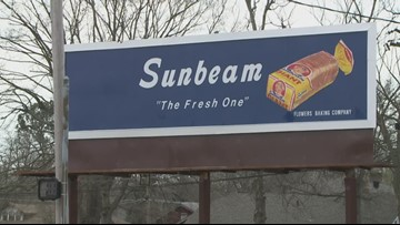 Sunbeam sign in Pine Bluff back up after renovations