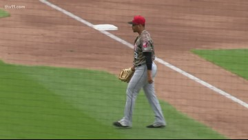 Cards squeak past Travs