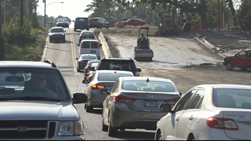 ARDOT to lane shift traffic on Kanis Road during construction