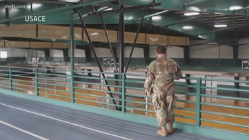 From convention center to treatment center: Military explores possible hospital sites
