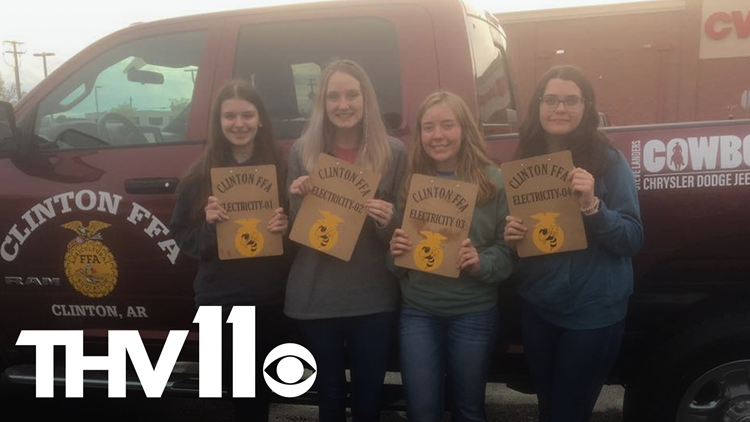 Clinton High School all girls team wins back to back state FFA competitions