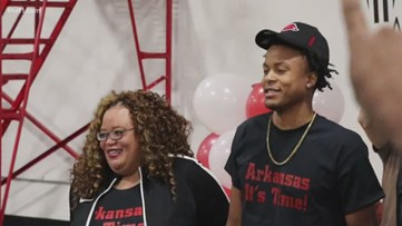Incoming Razorback Moses Moody shares senior speech on what it's like to be black in America