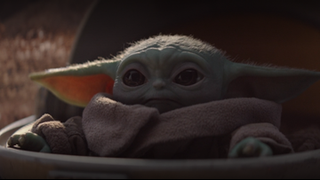 A cute Baby Yoda from The Mandalorian is taking over the internet