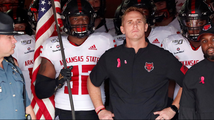 A-State coach Blake Anderson nominated for FWAA Courage Award