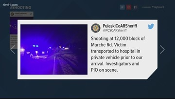 Shooting victim released from hospital