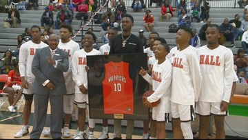 Hall honors Bobby Portis as Warriors defeat Maumelle