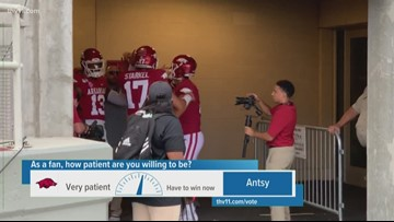 How much patience do fans have with Chad Morris, Razorbacks?