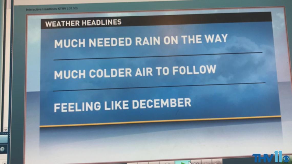 Monday December 4 Morning Forecast Thv11com