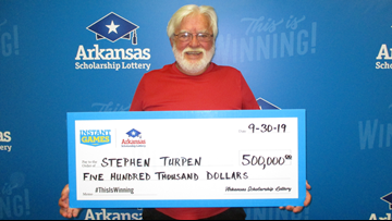 Hot Springs veteran wins $500k lottery, says his life 'won't change too much'