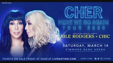 Cher is coming!