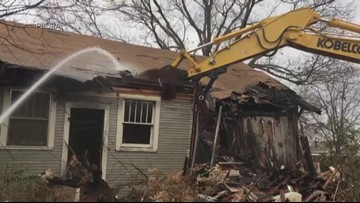Pine Bluff demolishing neglected homes