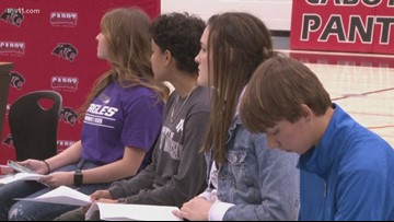 5 Cabot Panthers sign letters of intent