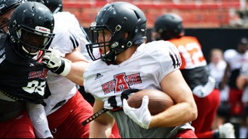 Arkansas State conducts first scrimmage of its 2019 fall camp