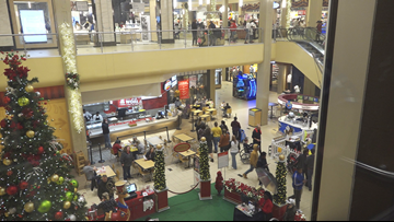 Crowds flood McCain Mall, looking for those Black Friday deals