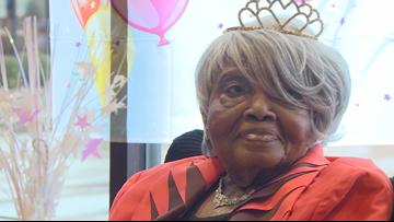 Help us wish Little Rock native Priscilla Boyle a happy 105th birthday!