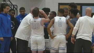 Bryant sweeps Benton to open new arena