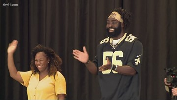 1 Thing: Former A-State Red Wolf Demario Davis a true Saint on and off the field