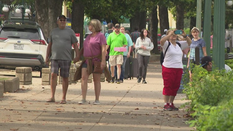 Hot Springs tourism sets new record with spending up 138% from 2020