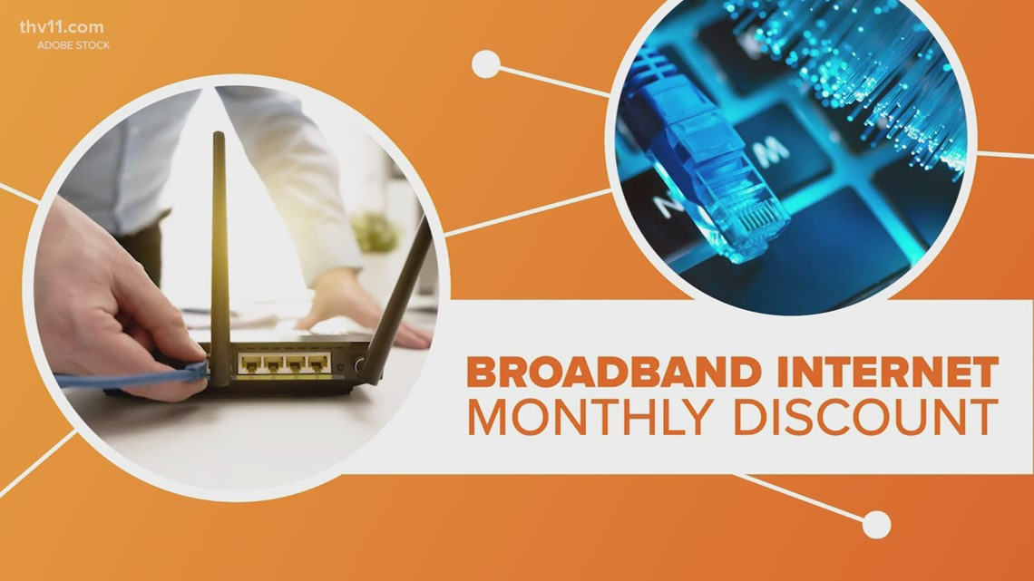 Discount for broadband internet | Connect the Dots
