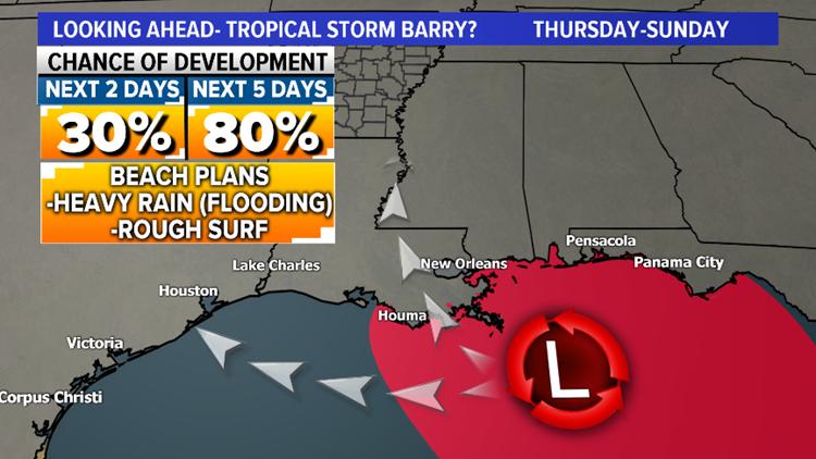 Map 3 gulf coast storm