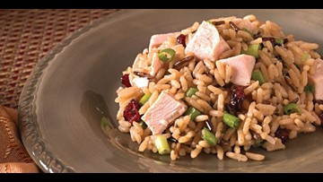 Heart healthy recipe: Turkey Rice Salad