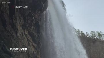 Discover Arkansas   Cedar Falls Trail