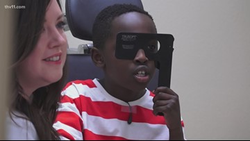 Eye clinic opens on Bryant school campus