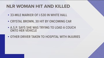 North Little Rock woman hit and killed on Interstate 530
