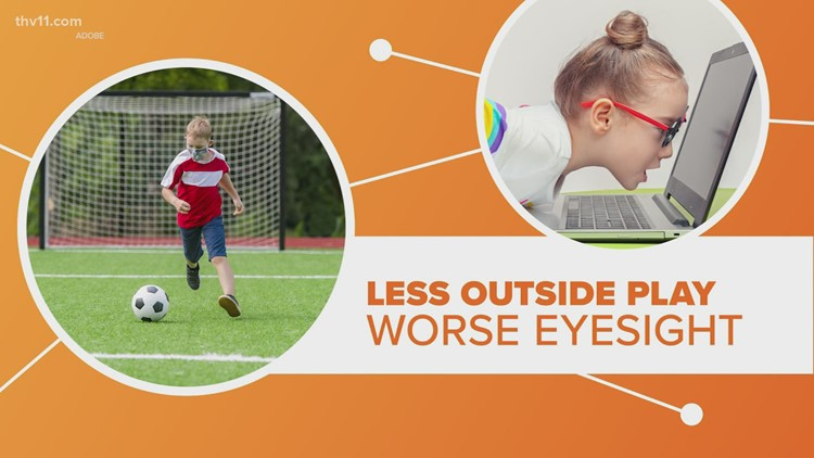 Kids' eyesight getting worse   Connect the Dots