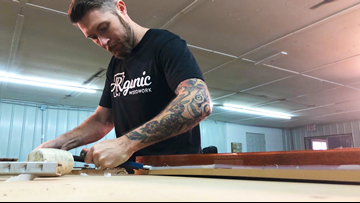 Searcy craftsman with a heart for foster kids, veterans builds business with a purpose