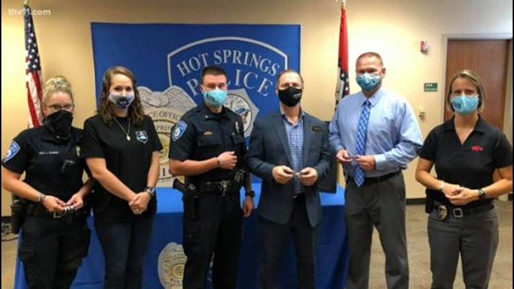 Hot Springs police group getting new technology for better training