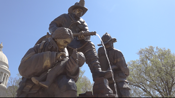Cancer victims honored at Arkansas Firefighters' Memorial