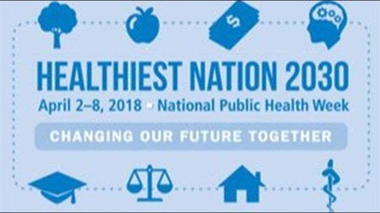 April 2-8, 2018 is National Public Health Week