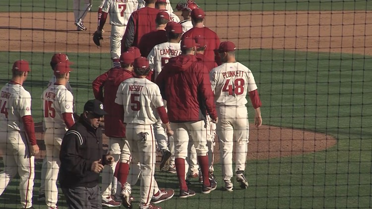 Eighth Inning Rally Lifts Arkansas Past LSU