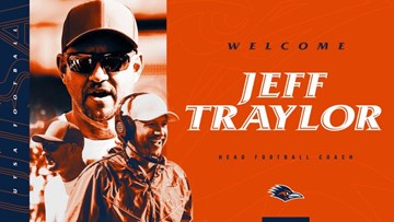 University of Texas at San Antonio hires Jeff Traylor as new head football coach