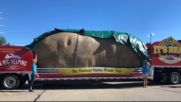 World's Largest Potato on Wheels to make appearance at Hot Springs St. Patrick's Day parade