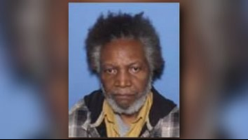 Little Rock police find missing 73-year-old homeless man