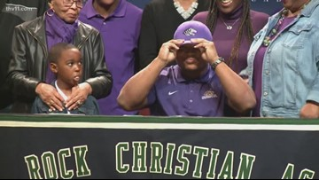 4 from Little Rock Christian sign letters of intent