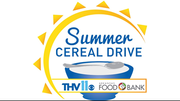 THV11 'Summer Cereal Drive' celebrates 18th year!